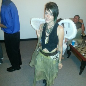 I'm not sure what this fairy is from but I liked her costume.