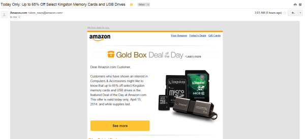 Amazon email marketing mess up martyfnemec Communication Made Simple