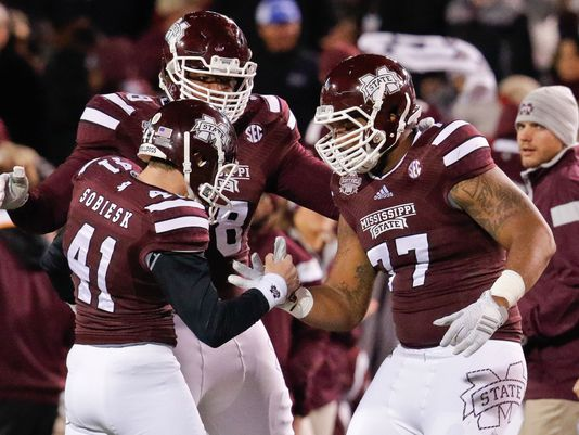 No. 1 Mississippi State remains in the driver's seat to be the top-ranked team int he playoff (Photo: USA TODAY Sports )